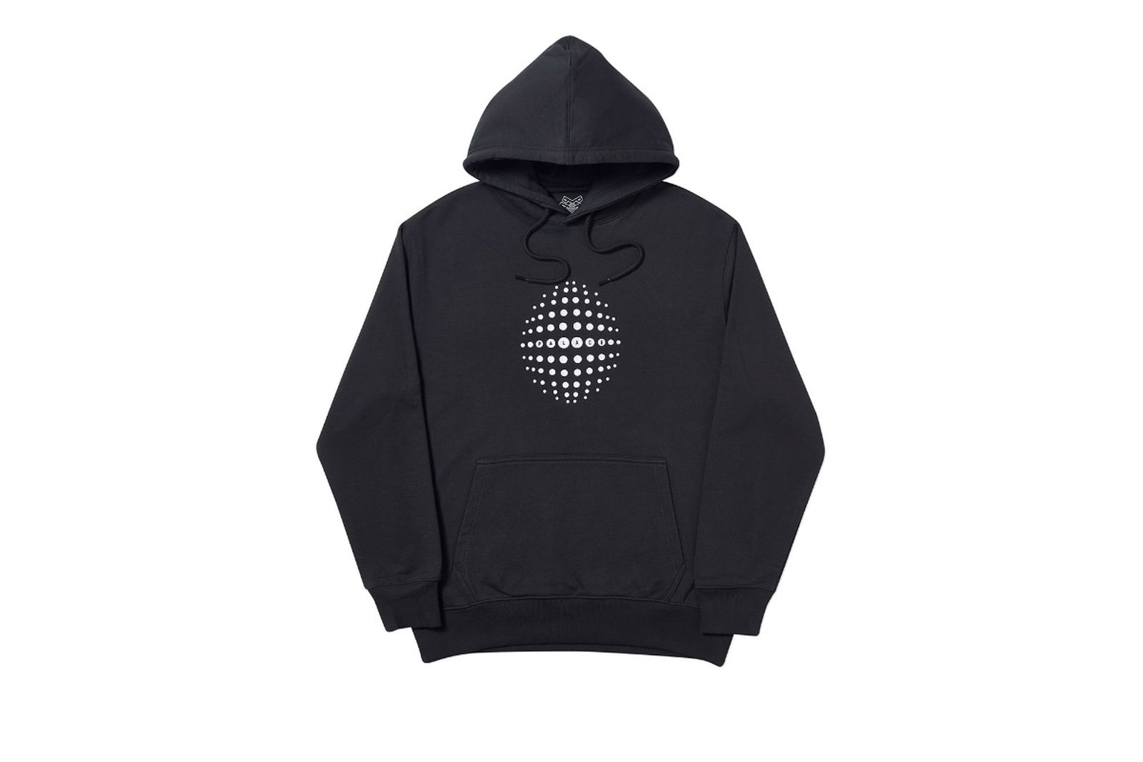Palace 2019 Autumn Hoodie Sphere black front