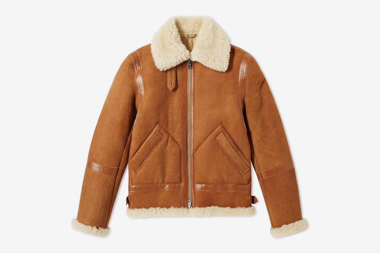 Ian Shearling Flight Jacket