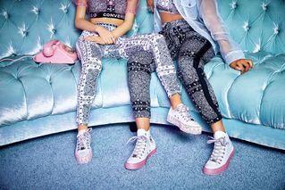 3347d755de94 Miley Cyrus   Converse Unveil Her Debut Collection