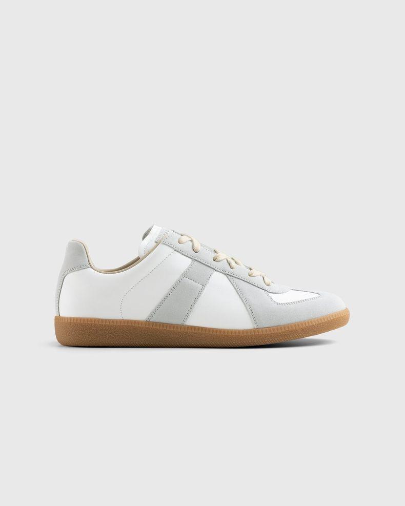 Maison Margiela — Calfskin Replica Sneakers Light Grey