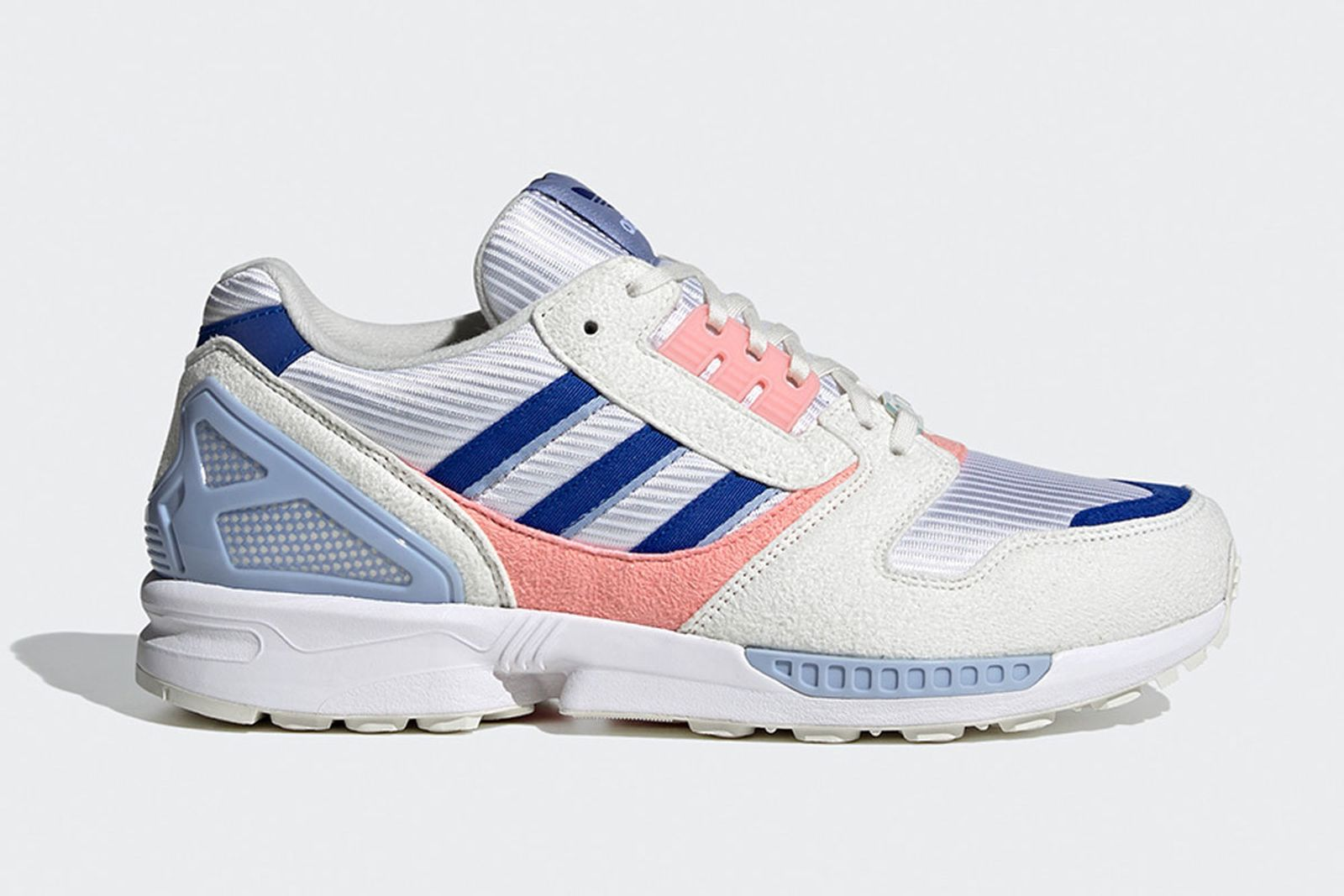 """adidas ZX 8000 """"Blue/Pink"""": Official Images & Rumored Release Info"""