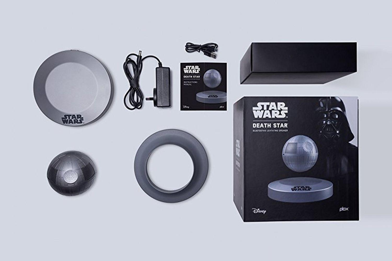 Levitating Death Star Bluetooth Speaker