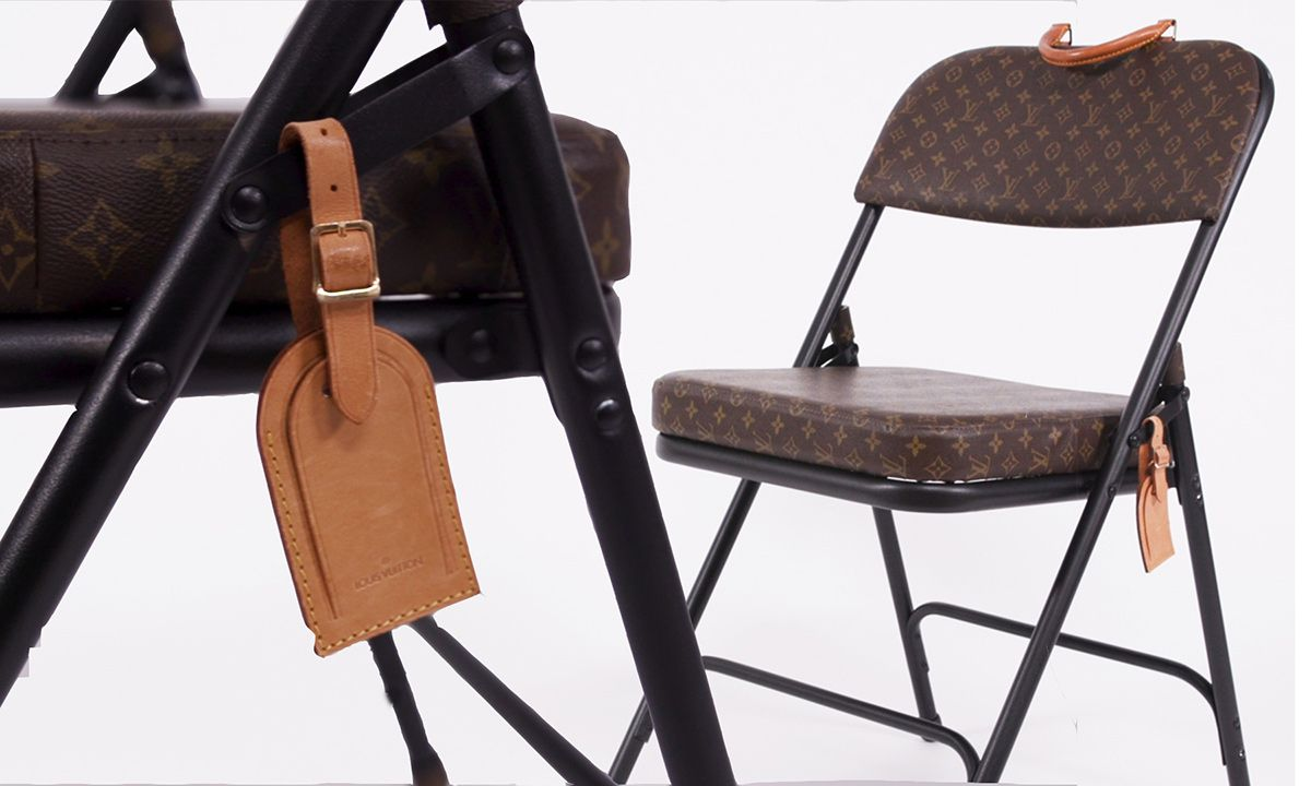 Meet Sarah Coleman, the NY Designer Turning Louis Vuitton Bags Into Folding Chairs