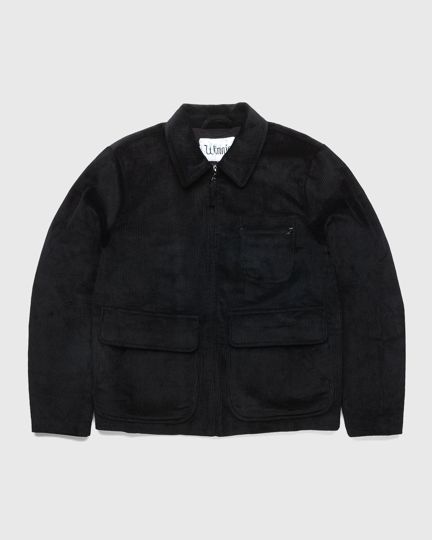 Winnie New York - Corduroy Hunting Jacket Black - Image 1