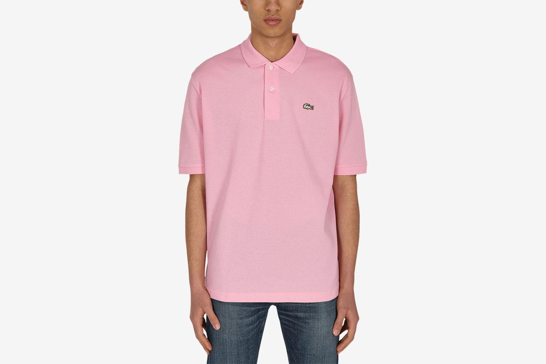 Loose Fit Cotton Piqué Polo Shirt