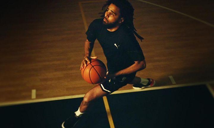 J. Cole PUMA basketball