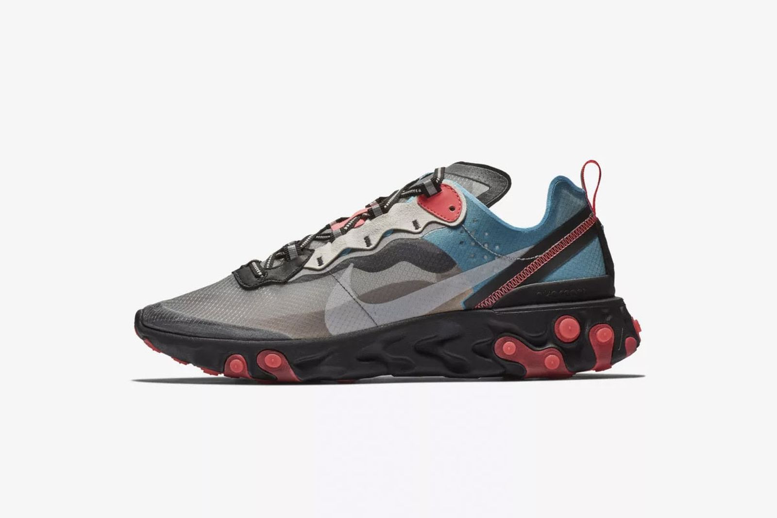 nike react element 87 release date price black red