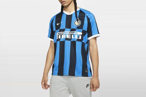 Inter Milan 2019/20 Stadium Home Soccer Jersey