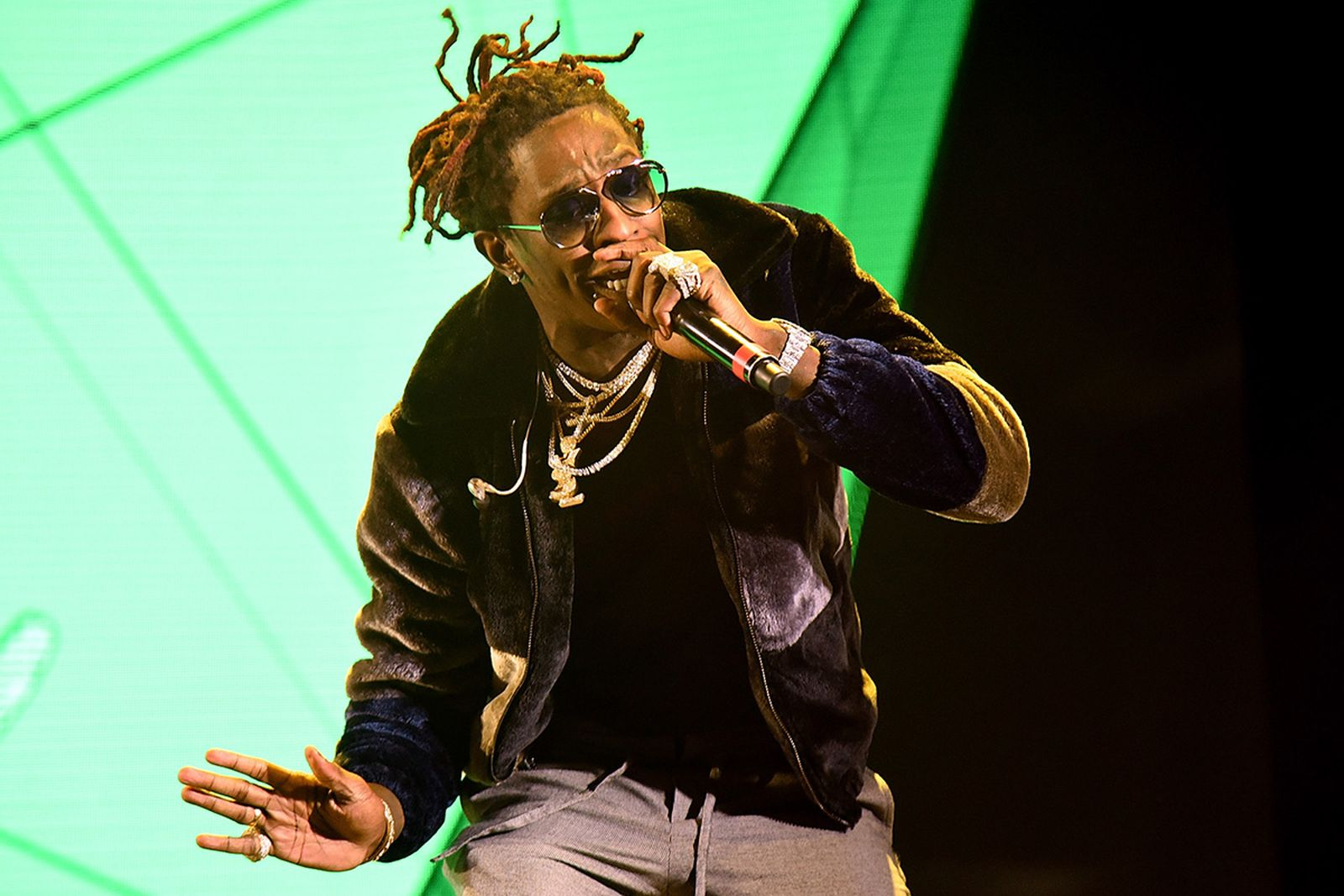 Young Thug performs at Rolling Loud Festival