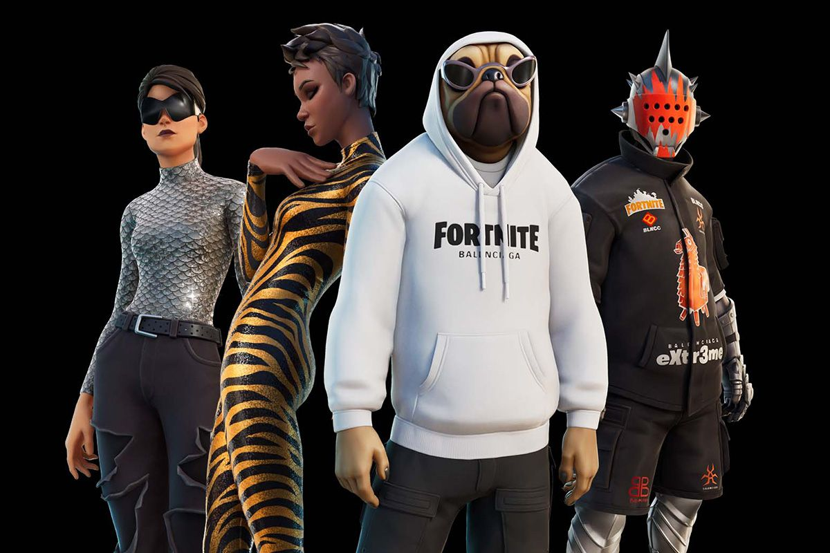 'Fortnite' x Balenciaga Has Arrived & You Better Not Ignore It