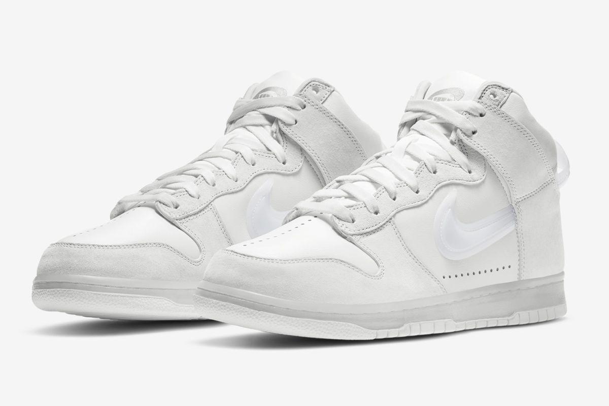 Slam Jam's Nike Dunk Flips the Swoosh Upside Down 14