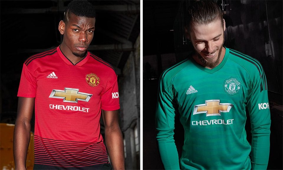 adidas debuts manchester united s new home kit adidas debuts manchester united s new