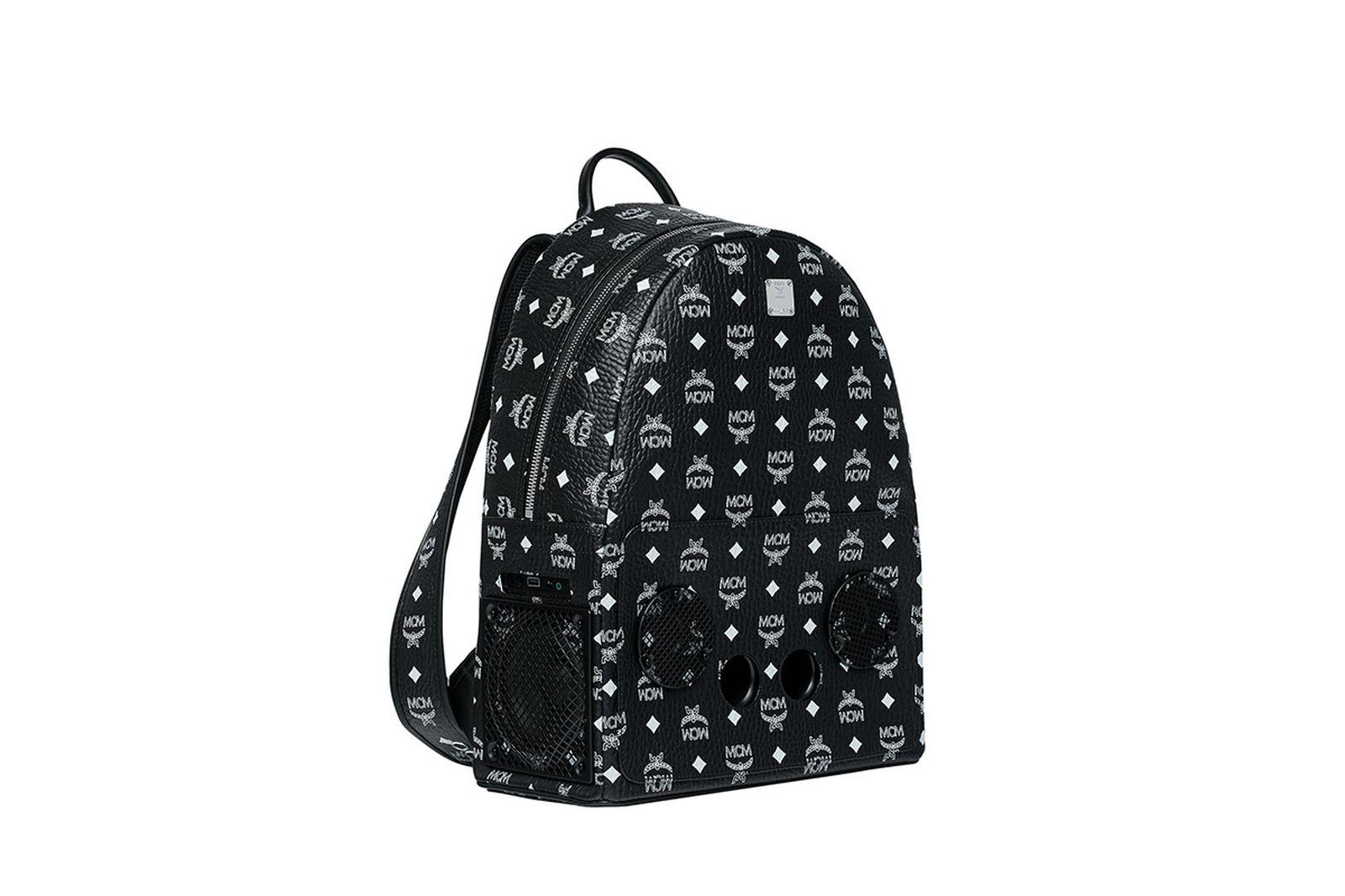 mcm wizpak backpack collaboration MCM x Wizpak