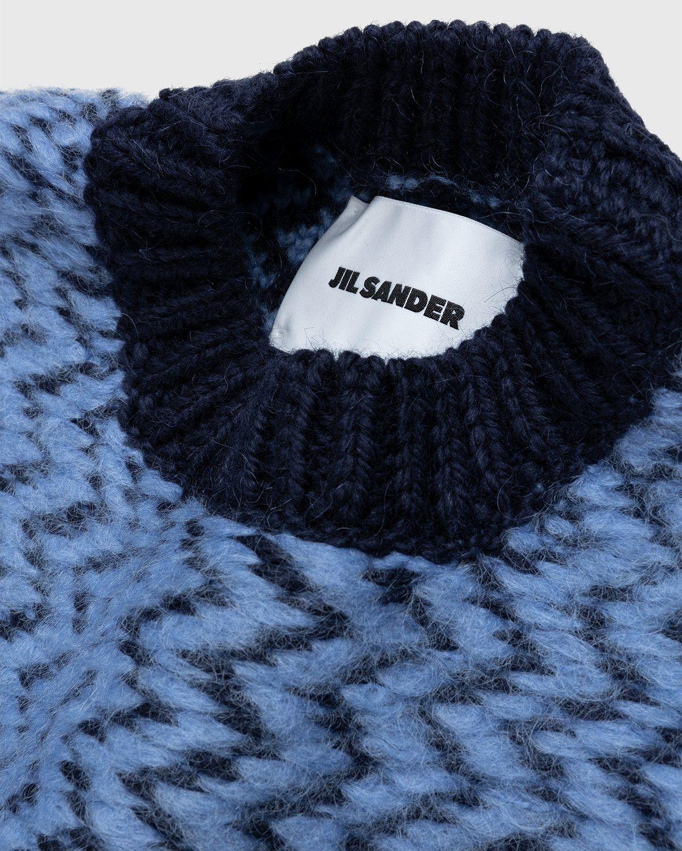 Jil Sander – Vest Kitted Blue - Image 4