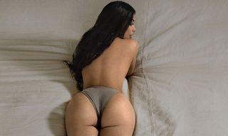 Kim Kardashian & Brad Hall Star in Intimate YEEZY Boost 350 V2 Campaign