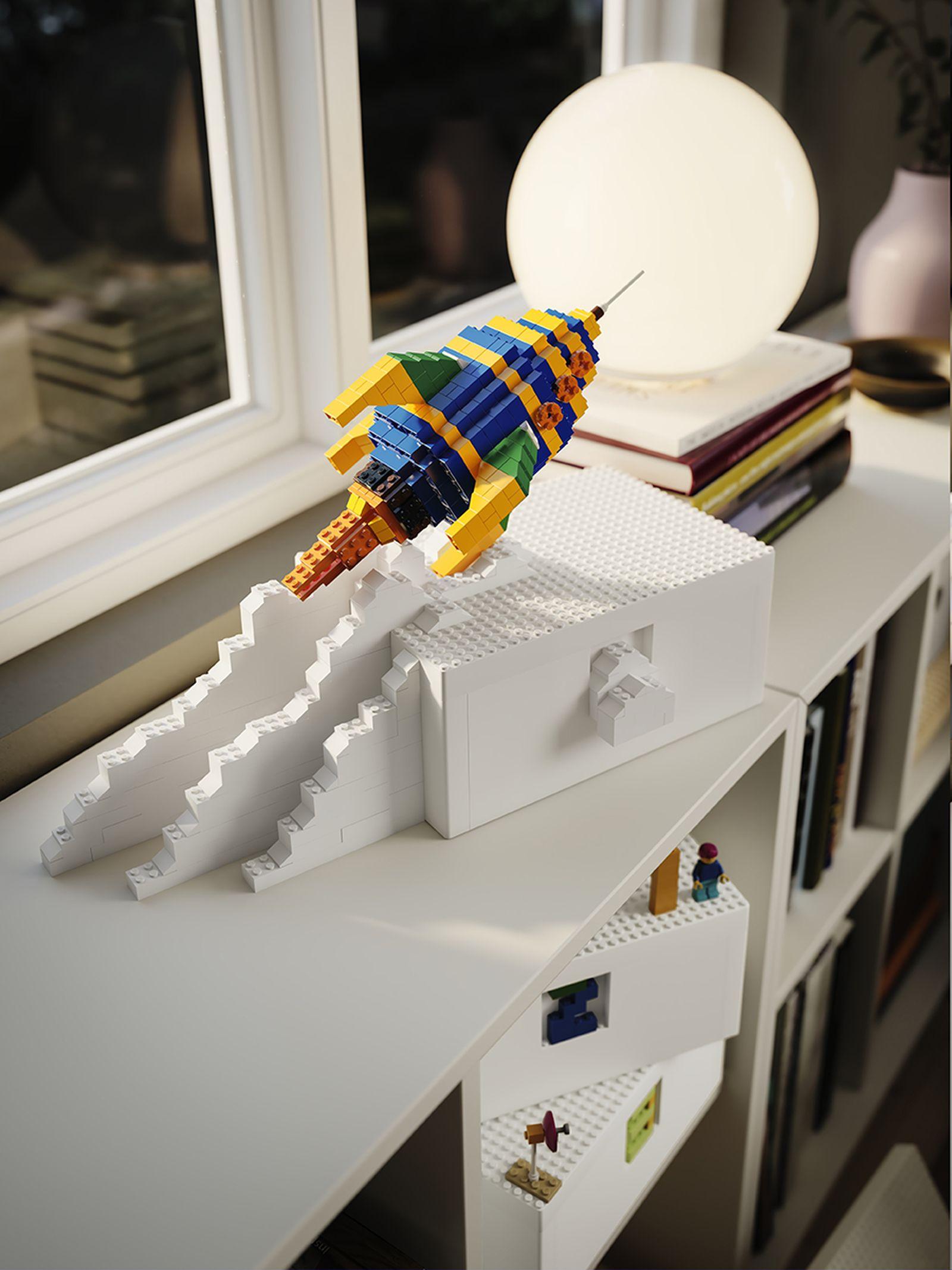IKEA LEGO BYGGLEK collaboration