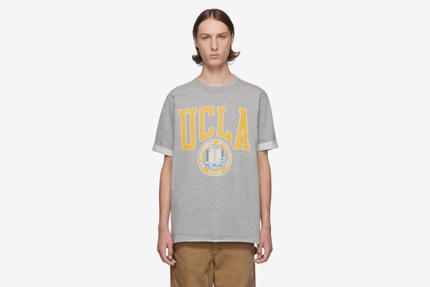 Grey Vintage 'UCLA' T-Shirt