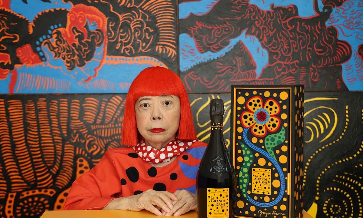 Veuve Clicquot Taps Artist Yayoi Kusama for Latest Collaboration