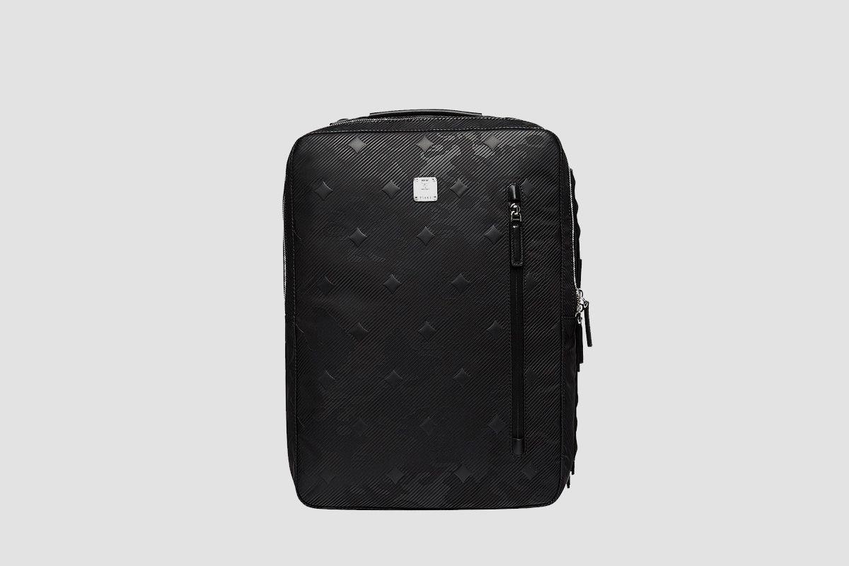 Dieter Briefpack in Textured Camo Nylon