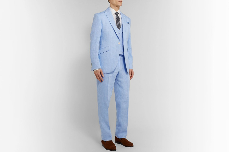 Evering Linen Suit Trousers