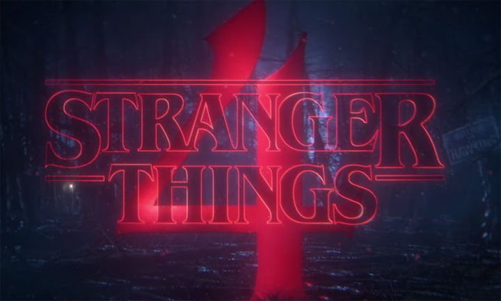 Stranger Things season four logo