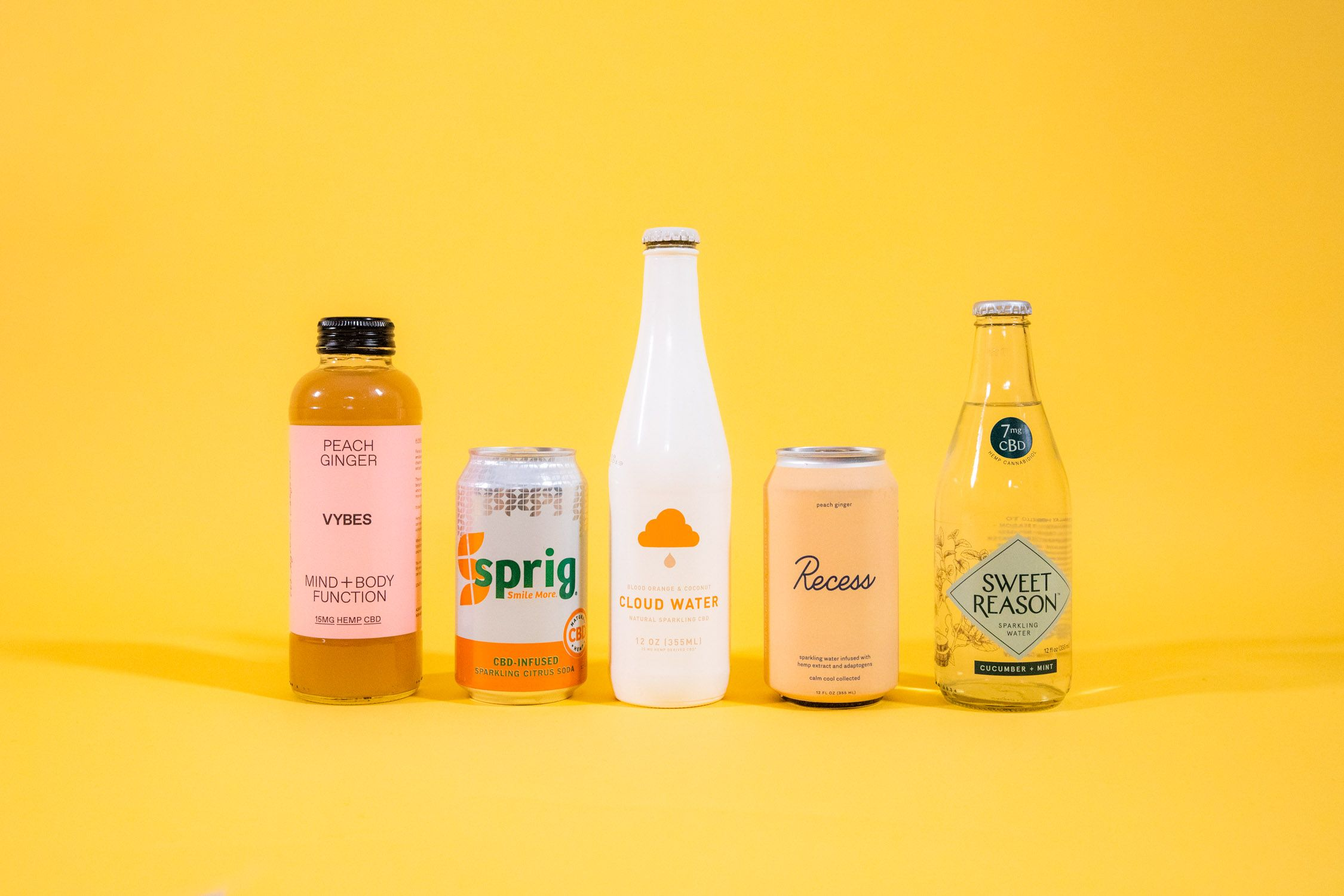Meet the Buzzy Brands Blowing up the CBD Beverage Bubble