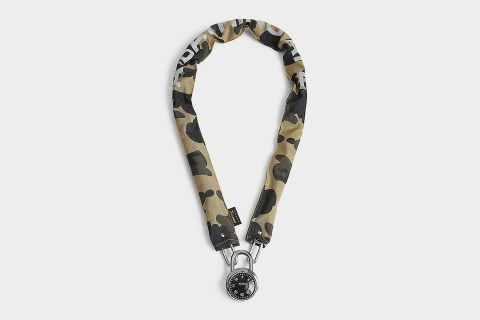 Camouflage Chain Lock