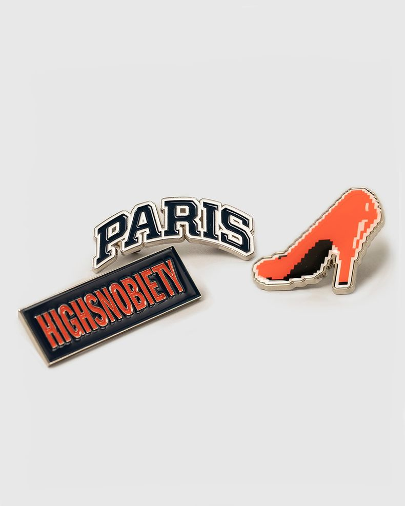 Not In Paris Pin Set
