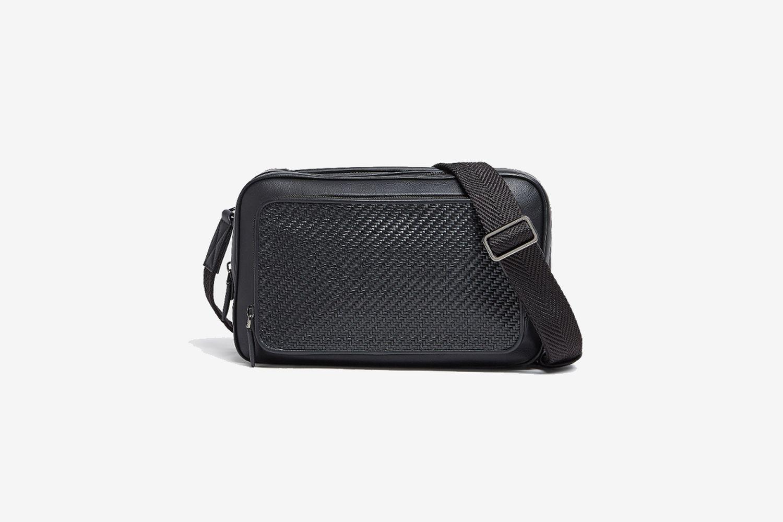 ERMENEGILDO ZEGNA PELLETESSUTA™ Zoom Bag