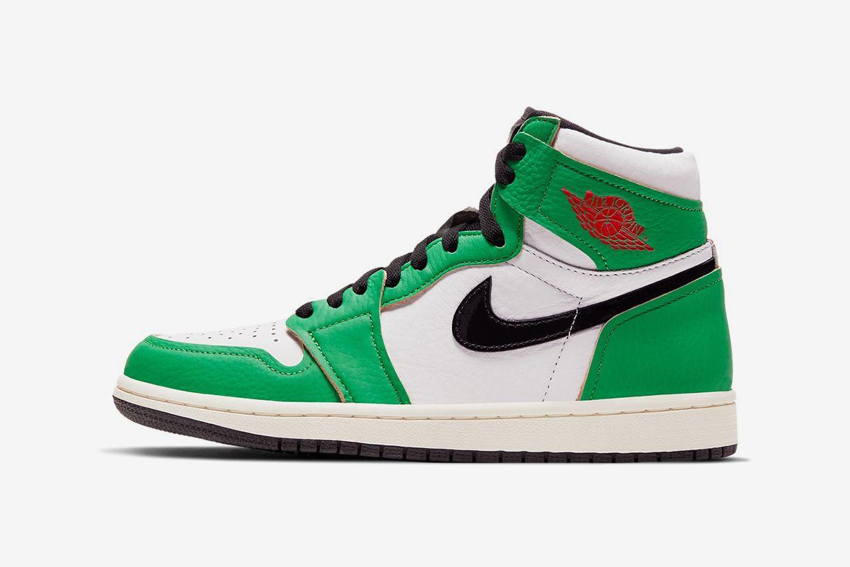 """Air Jordan 1 """"Lucky Green"""""""