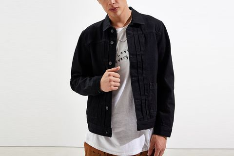 Type 2 Worn Denim Trucker Jacket