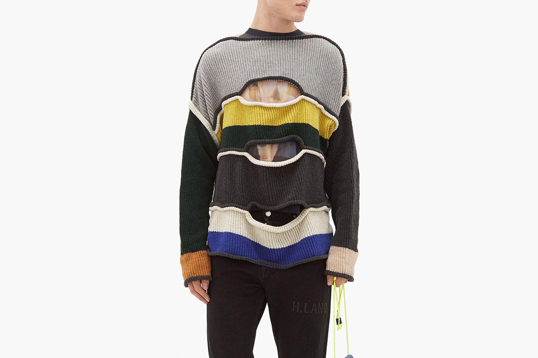 Nihilist Cutout Wool Sweater