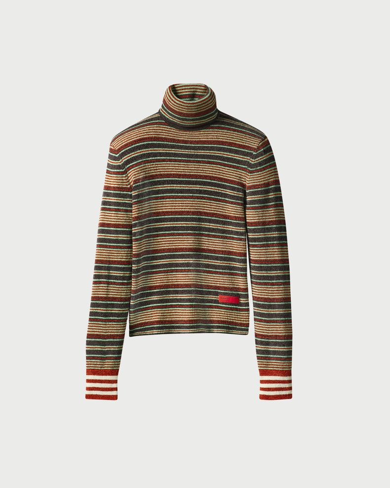 Adidas x Wales Bonner - Roll Neck Multi