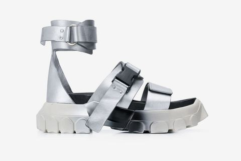 rick owens tractor sandals main farfetch