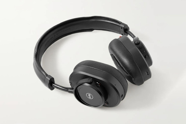 Wireless Leather Headphones