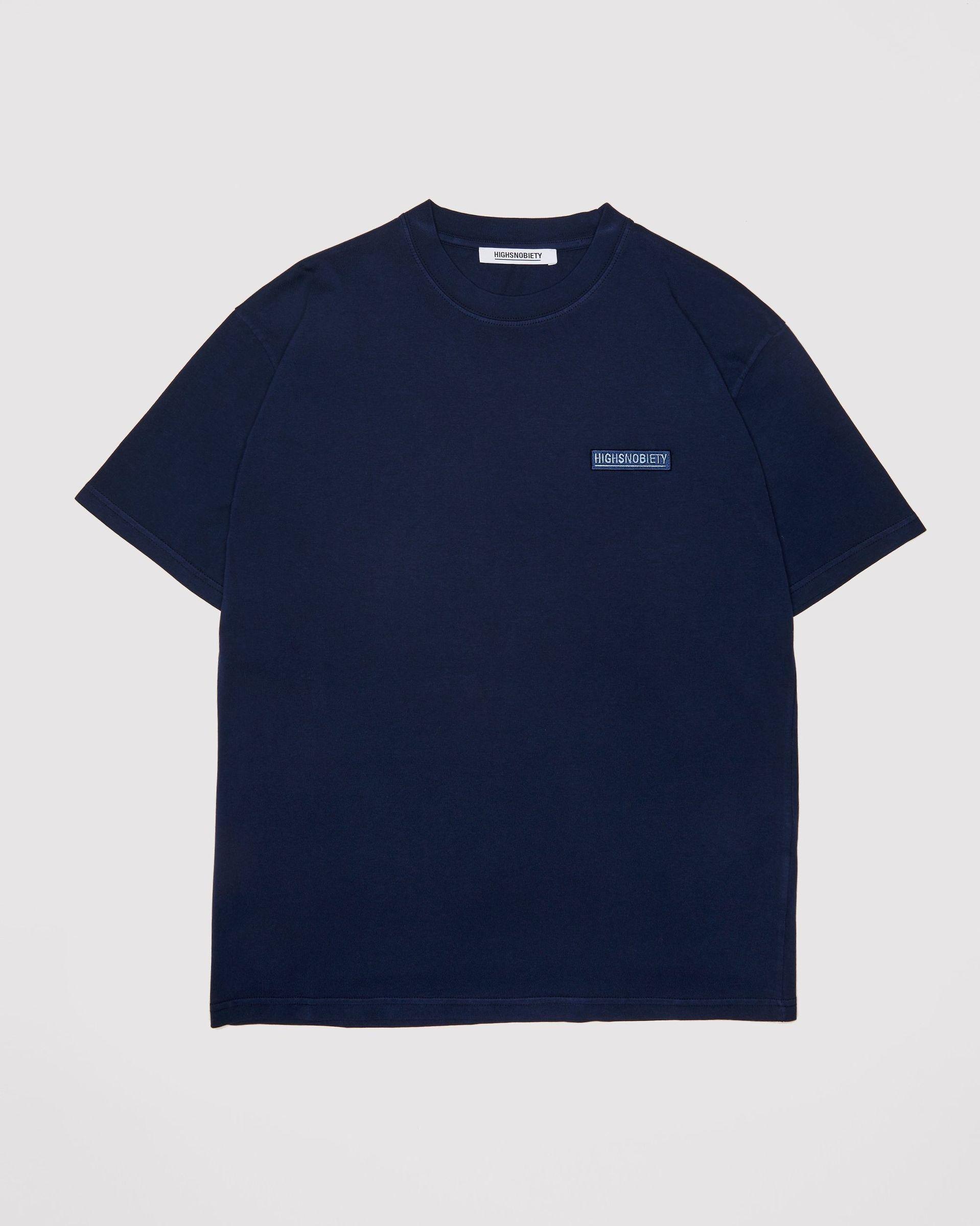 Highsnobiety Staples - T-Shirt Navy - Image 1