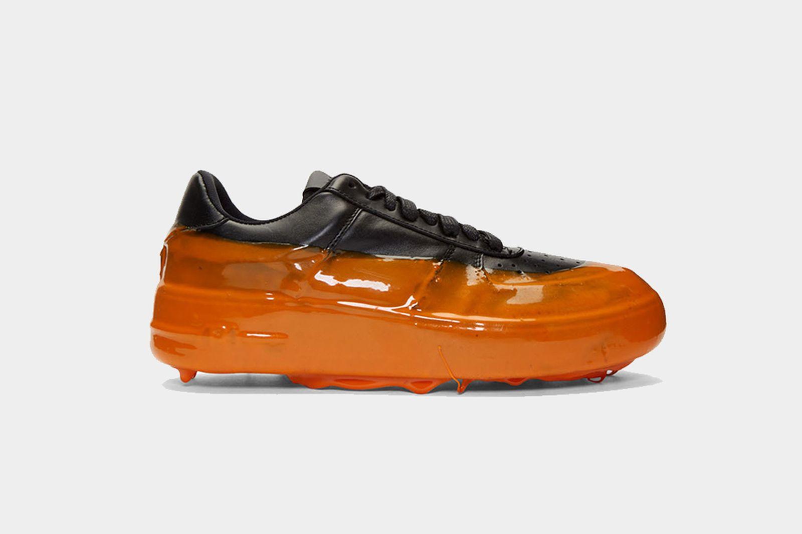 424 drip sneaker orange orange Eckhaus Latta Heron Preston Stone Island