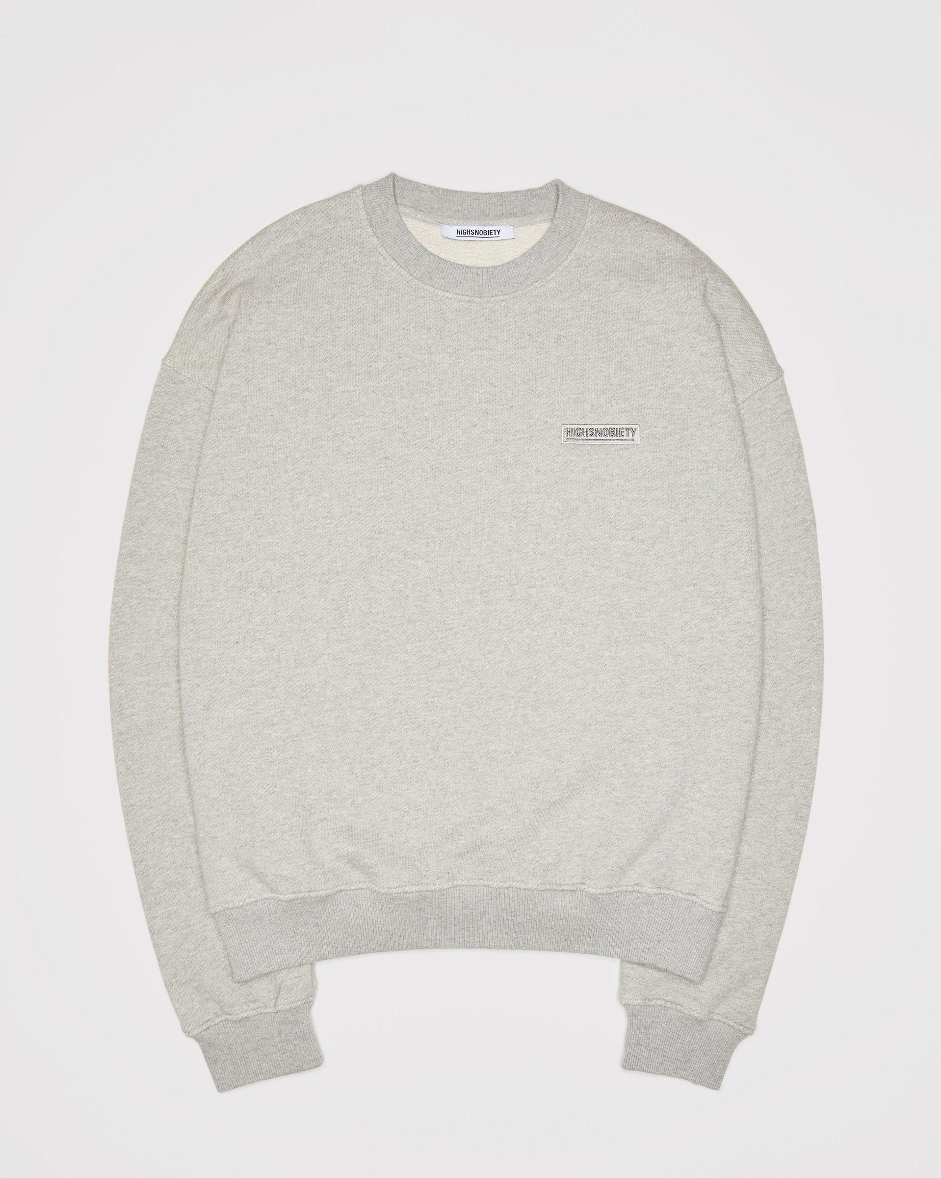 Highsnobiety Staples - Sweatshirt Grey - Image 1
