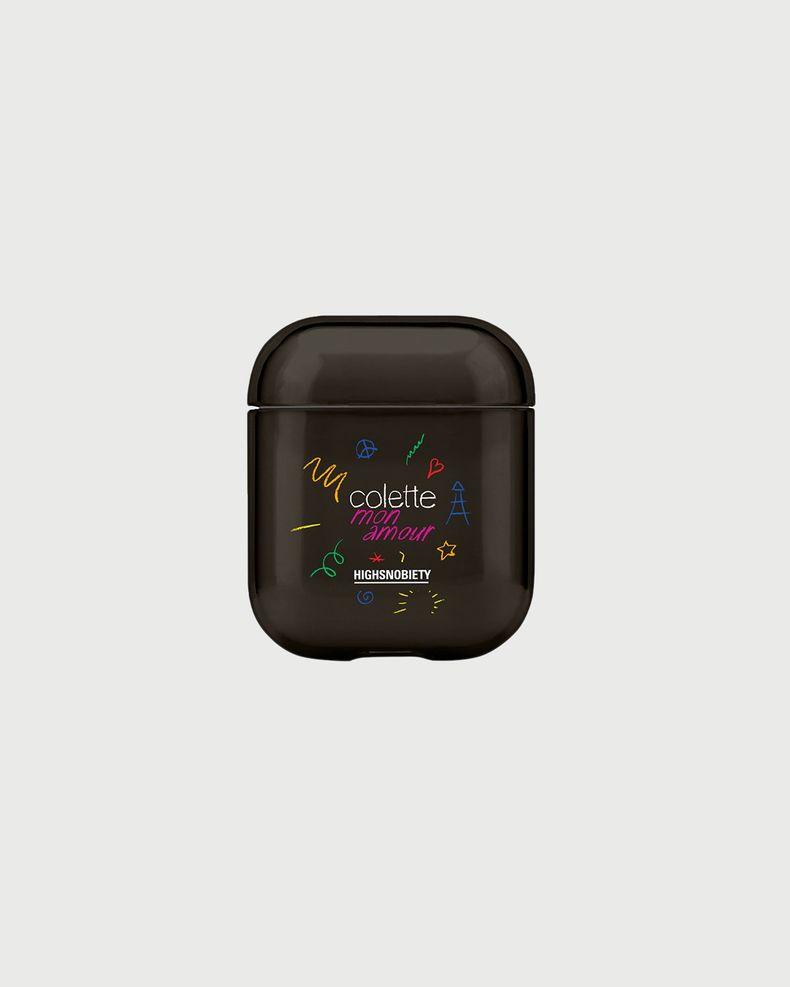Colette Mon Amour - Casetify AirPod Cover Black