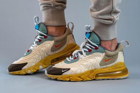 Travis Scott x Nike Air Max 270 React: Detailed On Foot Look