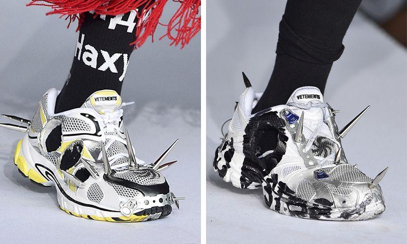 07b532f4182 Vetements Debuts a Spiky New Reebok Sneaker for SS19