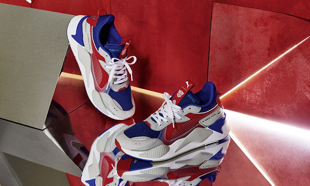 "53e0938db6b781 Hasbro x PUMA RS-X ""Transformers Pack"": Official Release Info"
