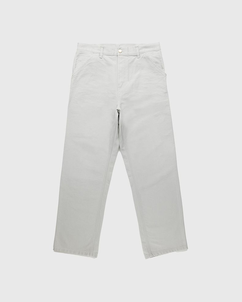 Carhartt WIP – Single Knee Pant Aged Canvas Grey