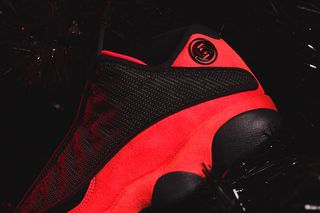 "869e676209f CLOT Unveils Its Friends & Family Air Jordan 13 Low ""Infra-Bred"""