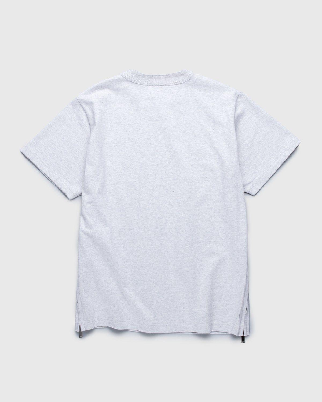 A.P.C. x Sacai — Kiyo T-Shirt Light Grey - Image 2
