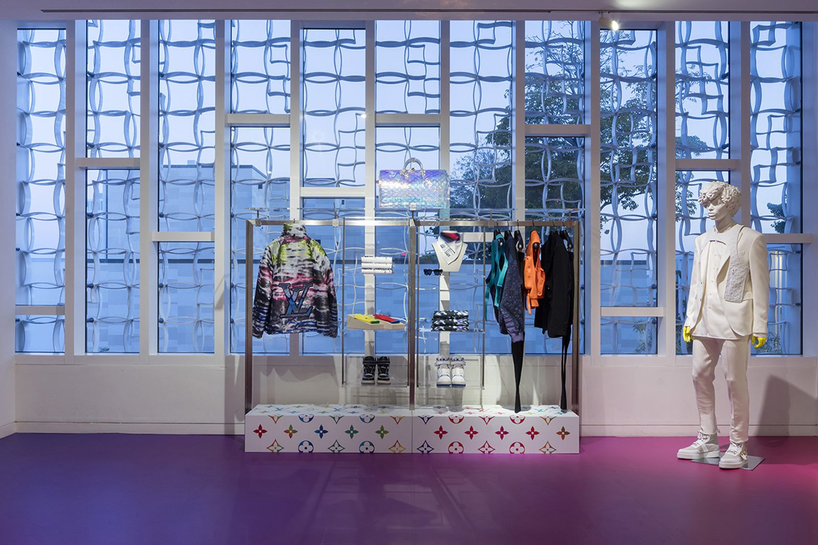 louis vuitton ss19 miami pop up virgil abloh