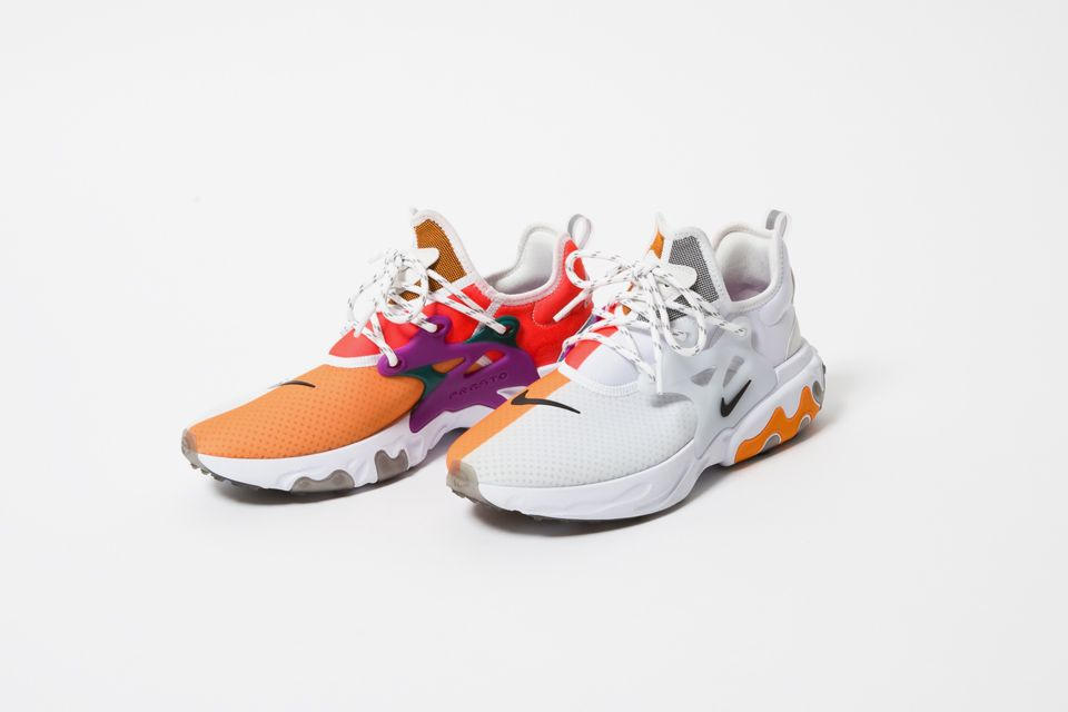 BEAMS Teams Up With Nike for a Colorful React Presto