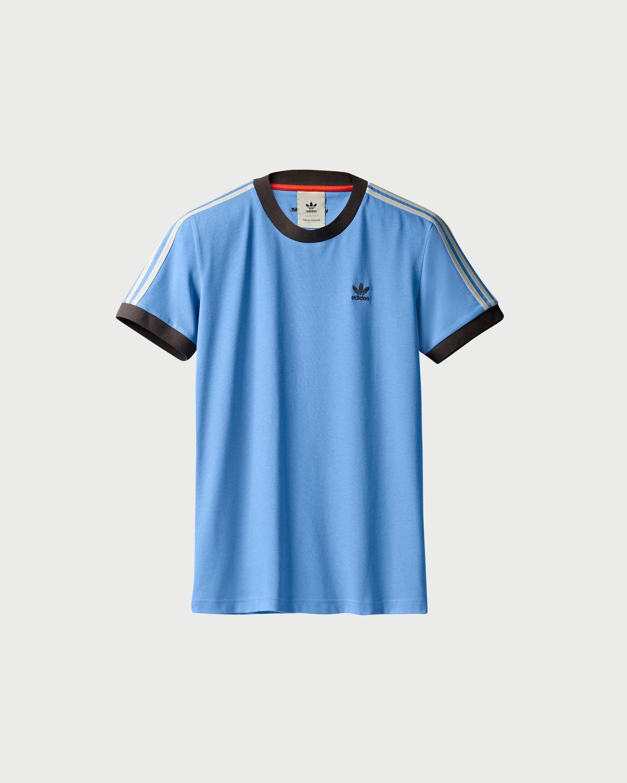 Adidas x Wales Bonner — Tee Light Blue | Highsnobiety Shop