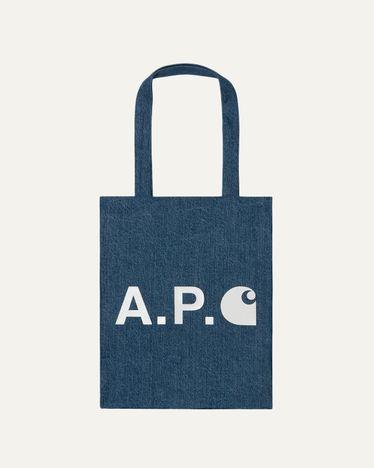 A.P.C. x Carhartt WIP - Alan Tote Indigo