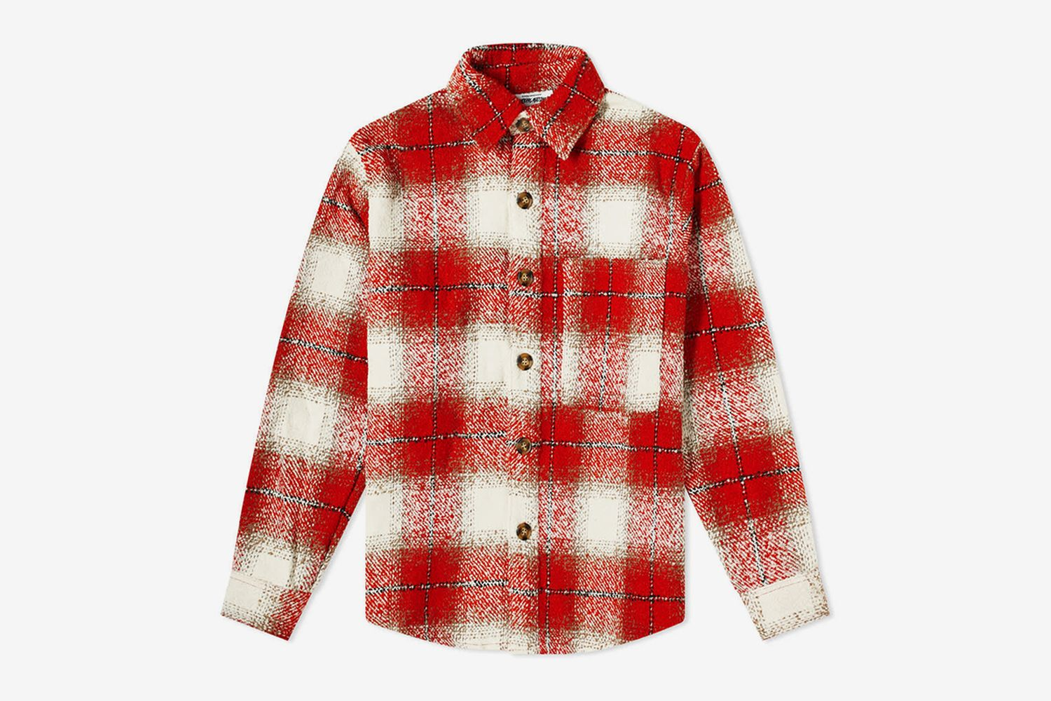 Heavy Flannel Overshirt